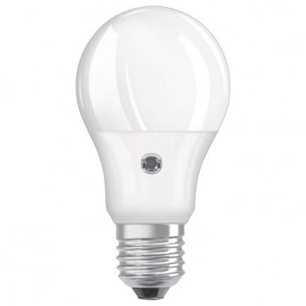 RENDL lightsource OSRAM ADV Classic A Daylight Sensor matt 230V E27 LED EQ60 2700K G12239 1