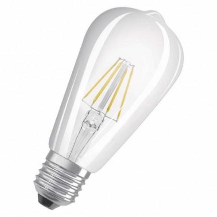 RENDL žarulja OSRAM Retrofit Edison prozirni 230V E27 LED EQ60 2700K G12247 1