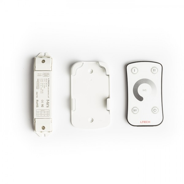 RENDL Track lights, LED strips and system lighting LED STRIP dimmer with remote white 12= max. 108W G12378 1
