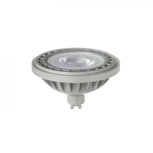 LED ES111  sivá  230V LED GU10 12W 45°  3000K