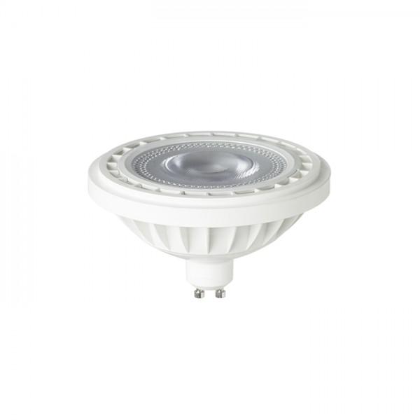 LED ES111  biela  230V LED GU10 12W 45°  4000K