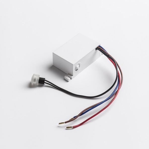 RENDL Interrupteur et accessoires DARK SENSOR 5-50 Lux encastré blanc 230V IP44 G12758 1