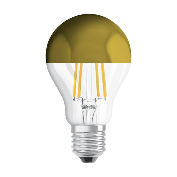 RENDL LED bol OSRAM TOP Classic A Goudfolie 230V E27 LED EQ54 2700K G13458 1