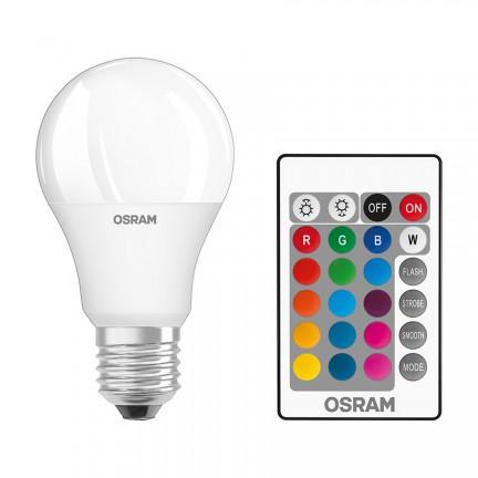 RENDL polttimo OSRAM RGBW Classic A matta 230V E27 LED EQ60 2700K G13579 1