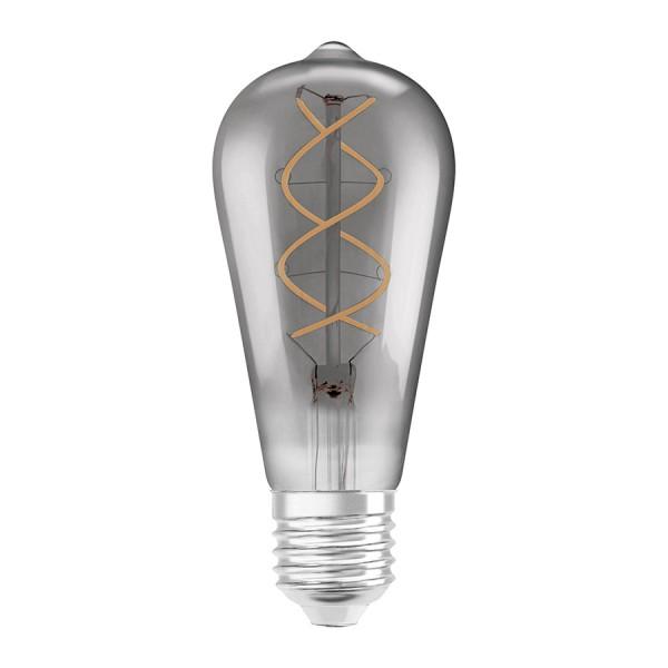 OSRAM Vintage Edison SPIRAL  dymová 230V E27 LED EQ25  1800K