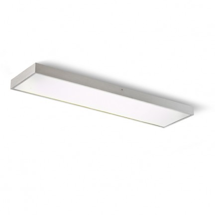 RENDL surface mounted lamp STRUCTURAL 120x30 surface mounted brushed aluminum 230V G5 3x28W R10098 1