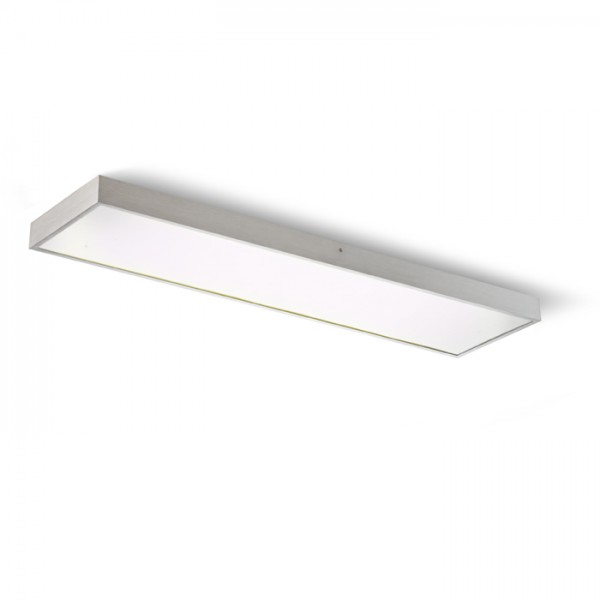 RENDL surface mounted lamp STRUCTURAL 120x30 surface mounted brushed aluminium 230V G5 3x28W R10098 1