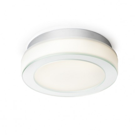 RENDL surface mounted lamp KARISMA 22 2D opal-colored glass 230V GR10q 16W IP44 R10106 1