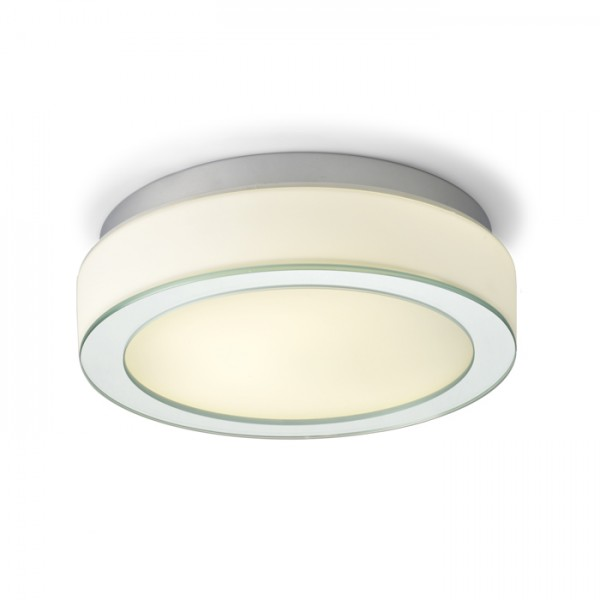 RENDL surface mounted lamp KARISMA 30 2D opal-colored glass 230V GR10q 28W IP44 R10111 1