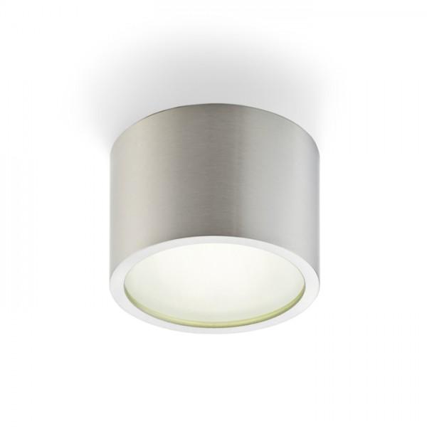 RENDL surface mounted lamp MERA ceiling brushed aluminium 230V GX53 9W IP54 R10118 1