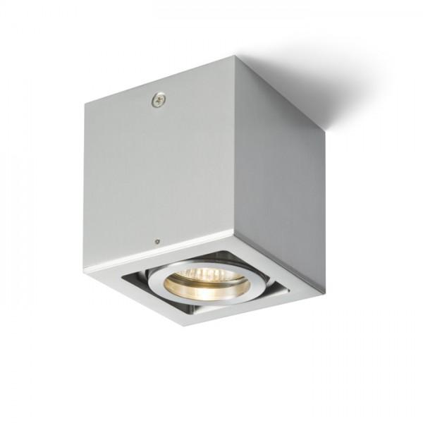RENDL přisazené svítidlo BERIT I hliník 230V GU10 50W R10119 1