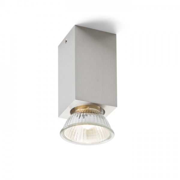 RENDL surface mounted lamp MARVEL ceiling aluminium 230V GU10 50W R10122 1