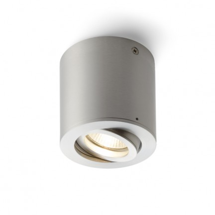 RENDL surface mounted lamp MOCCA ceiling aluminium 230V GU10 50W R10124 1