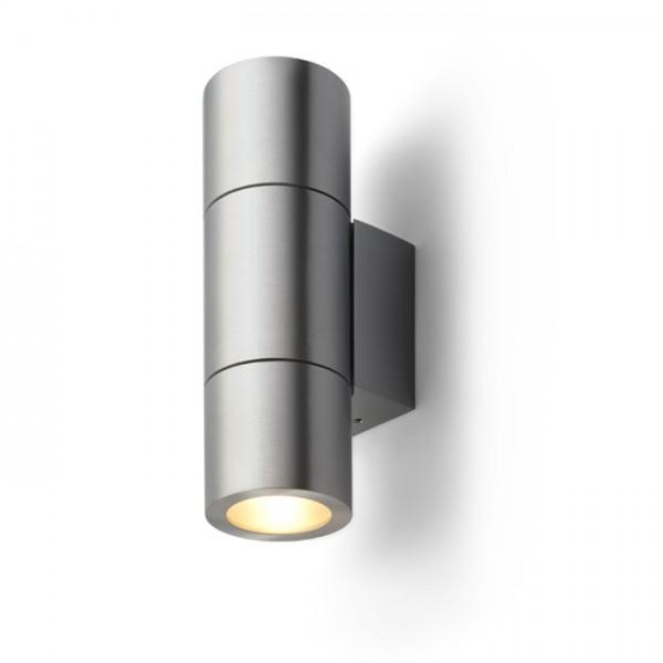 RENDL lámpara de pared MICO II de pared alumimio 230V G9 2x25W R10129 1