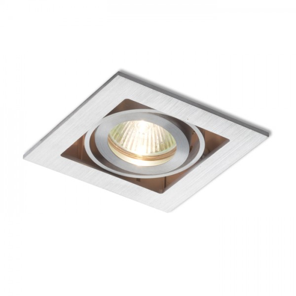 RENDL recessed light FIZZ I directional aluminium 12V GU5,3 50W R10146 1