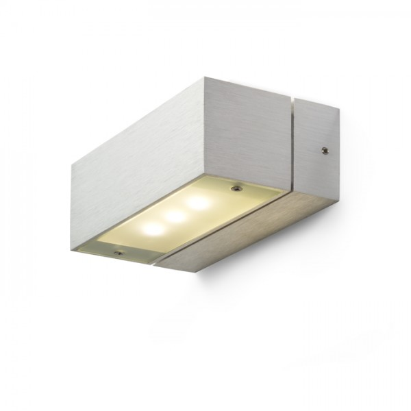 RENDL wall lamp ADVANTAGE VI aluminium 230V/350mA LED 6x1W 3000K R10154 1