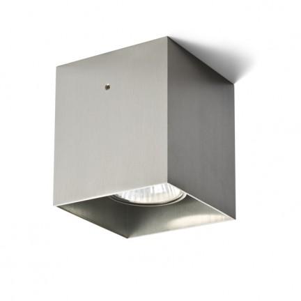 RENDL luminaire encastrable CUBO montage en surface aluminium 230V GU10 50W R10168 1