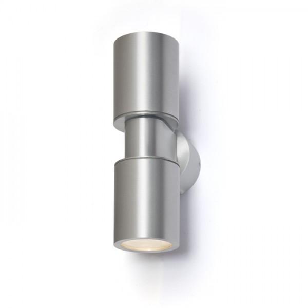 RENDL ulkotilan valaisin MAC DUO seinä alumiini 230V GU10 2x35W IP54 R10169 1