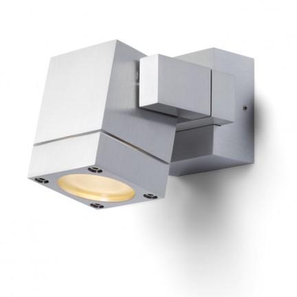 RENDL udendørslampe CASSO vippbar aluminium 230V GU10 35W IP54 R10181 1