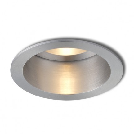 RENDL recessed light ESIX fixed polished aluminum 230V GU10 50W R10184 1