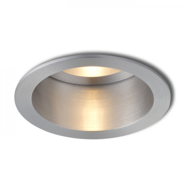 RENDL verzonken lamp ESIX niet verstelbare plafondlamp Gepolijst aluminium 230V GU10 50W R10184 1