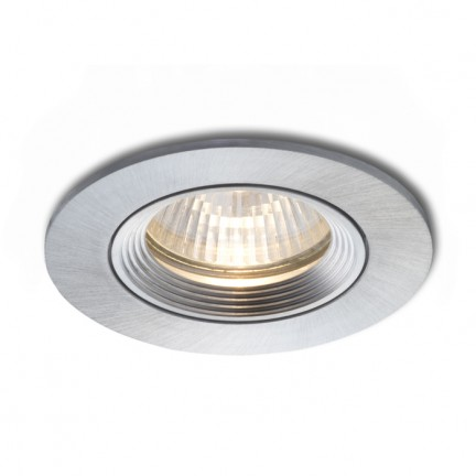 RENDL luz empotrada TIX direccional aluminio pulido 230V GU10 50W R10186 1