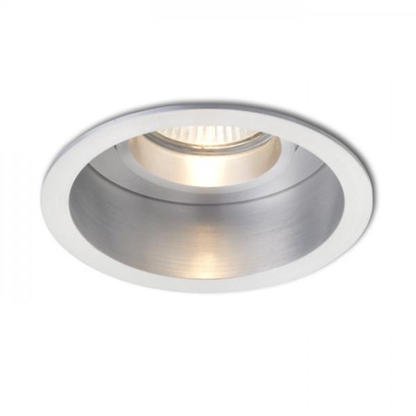 RENDL vestavné světlo ESIX výklopná leštěný hliník 230V GU10 50W R10187 1