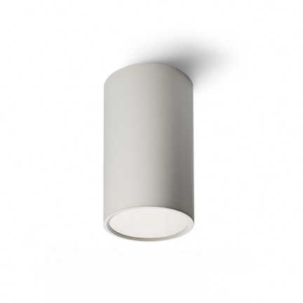 RENDL surface mounted lamp MEA ceiling cylindrical white 230V E27 18W R10195 1