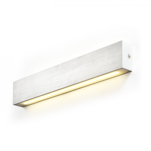 RENDL wall lamp INTERIA LED wall aluminium 230V/600mA LED 6.5W 3000K R10198 1