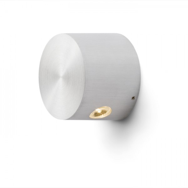 RENDL wall lamp ZOE LED II wall brushed aluminium 230V/350mA LED 2x1W 3000K R10206 1