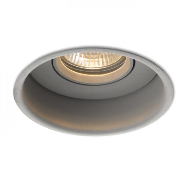 RENDL indbygget lampe ESIX retningsindstillelig sølvgrå 230V GU10 50W R10211 1