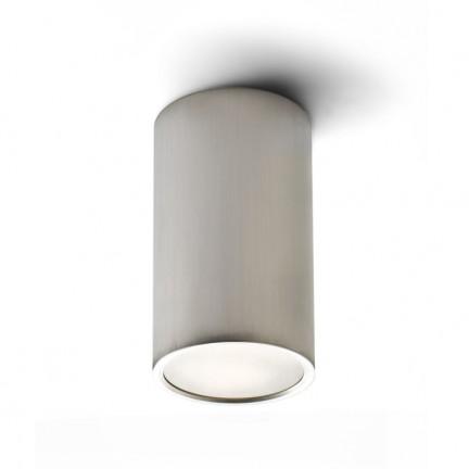 RENDL montažno svjetlo MEA stropna cilindrična brušeni aluminij 230V E27 18W R10212 1
