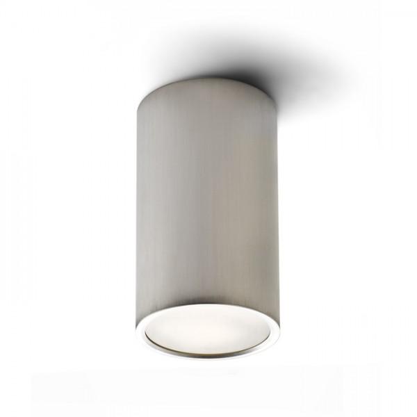 RENDL Montažna svjetiljka MEA stropna cilindrična brušeni aluminij 230V E27 18W R10212 1