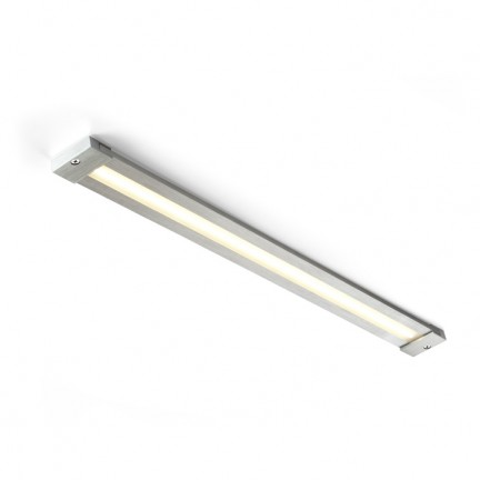 RENDL lámpara de pared DART LED montadas en superficie con transformador aluminio cepillado 230V/350mA LED 8.4W 3000K R10214 1