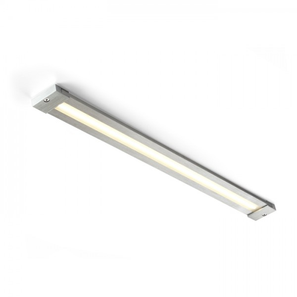 RENDL wall lamp DART LED surface mounted incl. ext. driver brushed aluminum 230V/350mA LED 8.4W 3000K R10214 1
