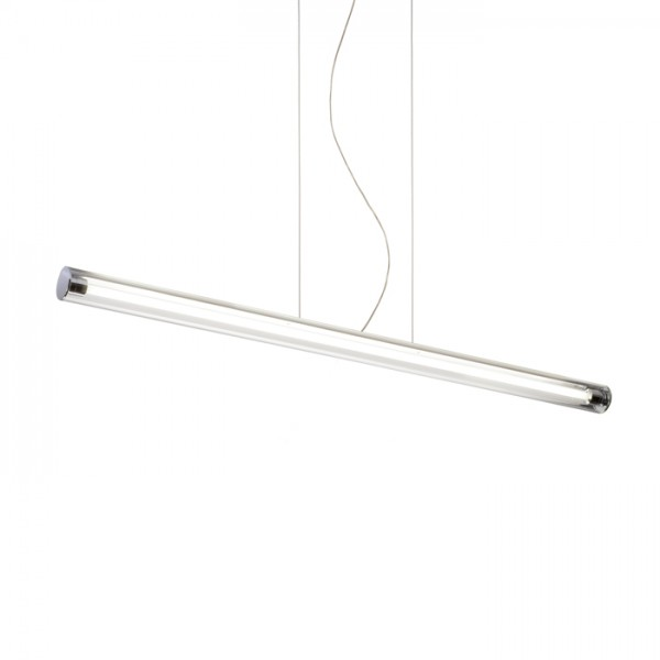 RENDL pendent RIVIER I pendant clear glass/chrome 230V G5 28W R10243 1