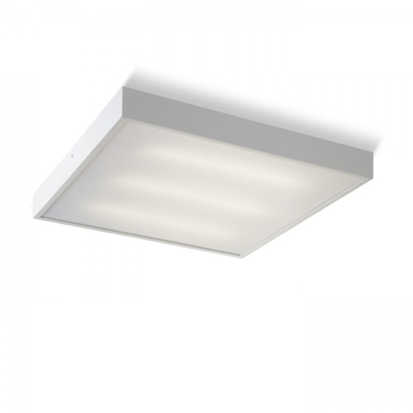 RENDL surface mounted lamp STRUCTURAL 55x55 surface mounted white 230V 2G11 3x36W R10256 1