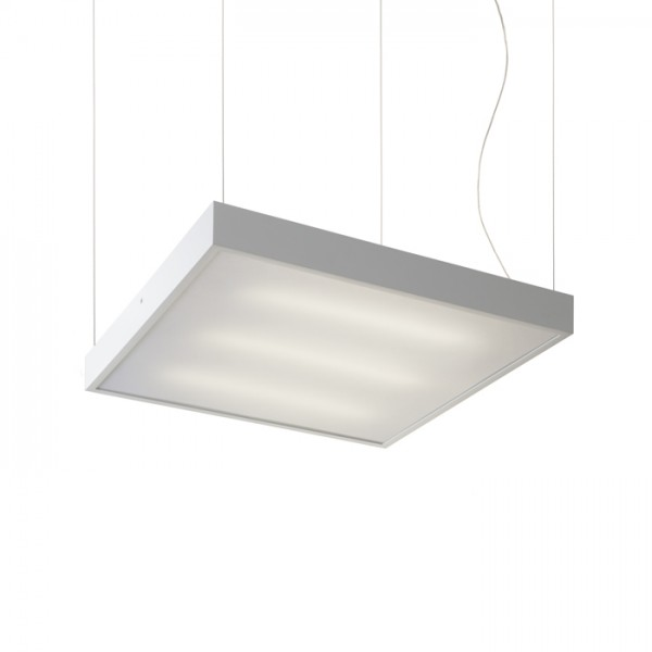 RENDL pendent STRUCTURAL 55x55 pendent white 230V 2G11 3x36W R10259 1