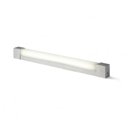 RENDL wandlamp PERISA 60 wandlamp Geborsteld Aluminium 230V G5 14W IP44 R10264 1
