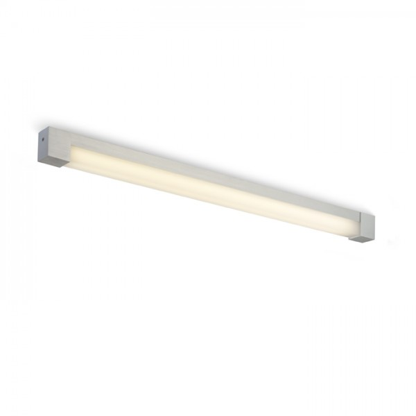 RENDL lámpara de pared PERISA 90 de pared aluminio cepillado 230V G5 21W IP44 R10265 1