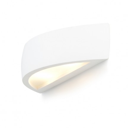 RENDL wall lamp CRESCENT wall plaster 230V R7s 78mm 80W R10266 1