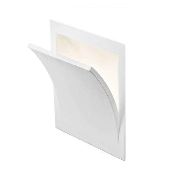 RENDL vestavné světlo SPIRIT zápustná do stěny sádrová 230V E14 28W R10267 1
