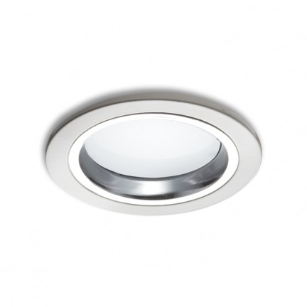 RENDL recessed light OXA 9 recessed white chrome 230V/350mA LED 5x1W 3000K R10275 1