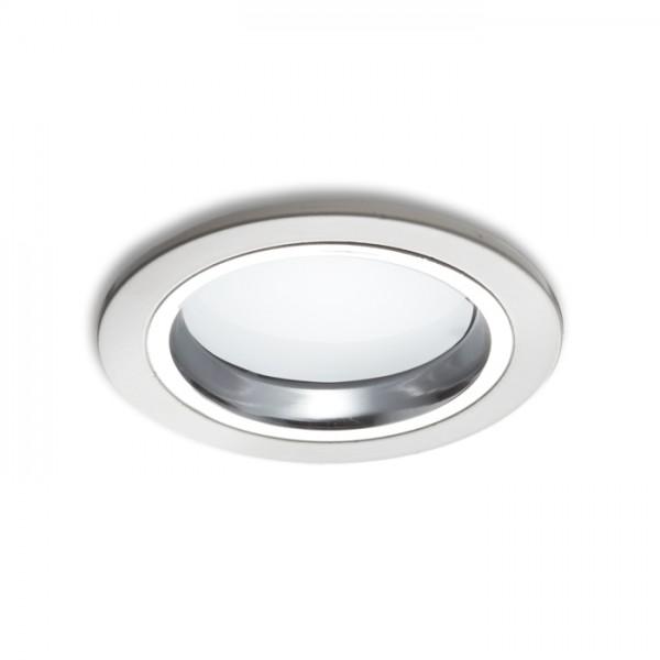 RENDL mennyezeti lámpa OXA 9 süllyesztett lámpa fehér króm 230V/350mA LED 5x1W 3000K R10275 1