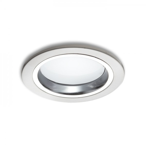 RENDL indbygget lampe OXA 9 indbygget hvid krom 230V/350mA LED 5x1W 3000K R10275 1
