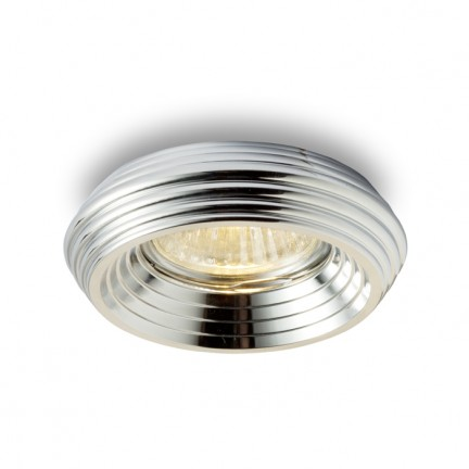 RENDL recessed light ZIK recessed chrome 230V GU10 50W R10282 1