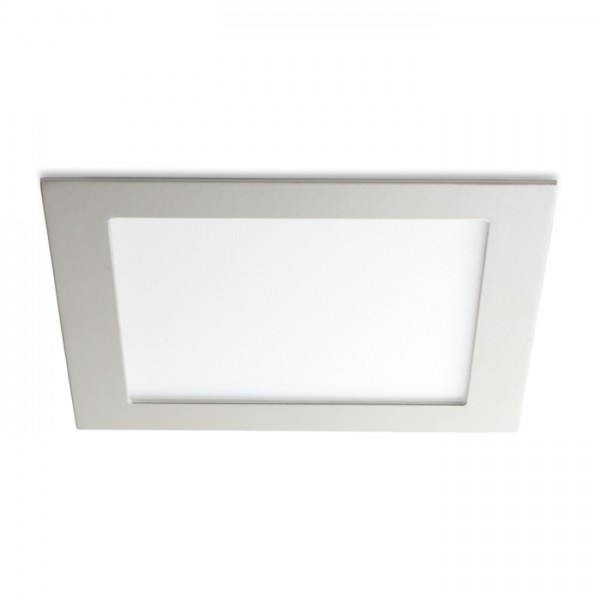 RENDL recessed light SLENDER SQ 17 recessed white 230V LED 12W 3000K R10284 1