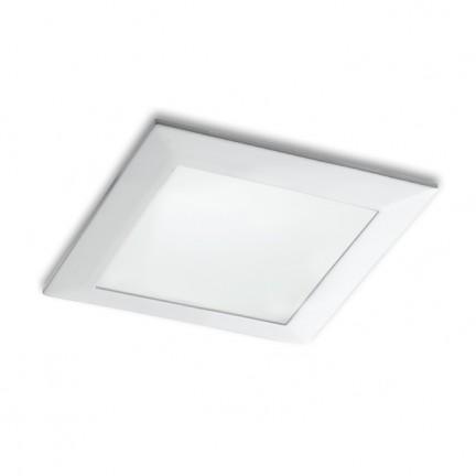 RENDL luminaire plafond SEEYOU 11 carré encastré blanc 230V/350mA LED 10W 3000K R10299 1