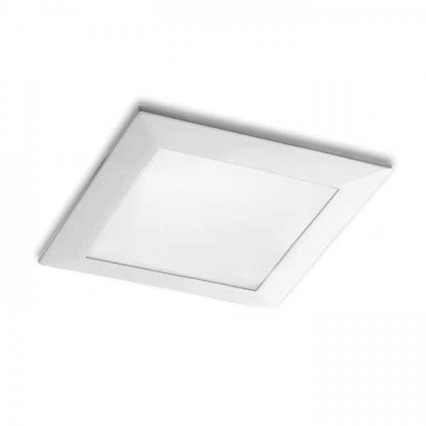 RENDL recessed light SEEYOU 11 square recessed white 230V/350mA LED 10W 3000K R10299 1