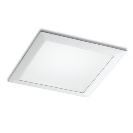 RENDL recessed light SEEYOU 15 square recessed white 230V/350mA LED 16W 3000K R10300 1
